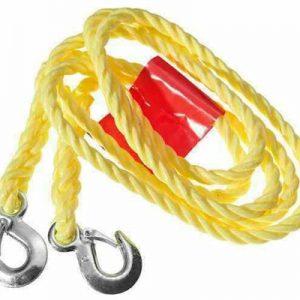 Ťažné lano s karabinami